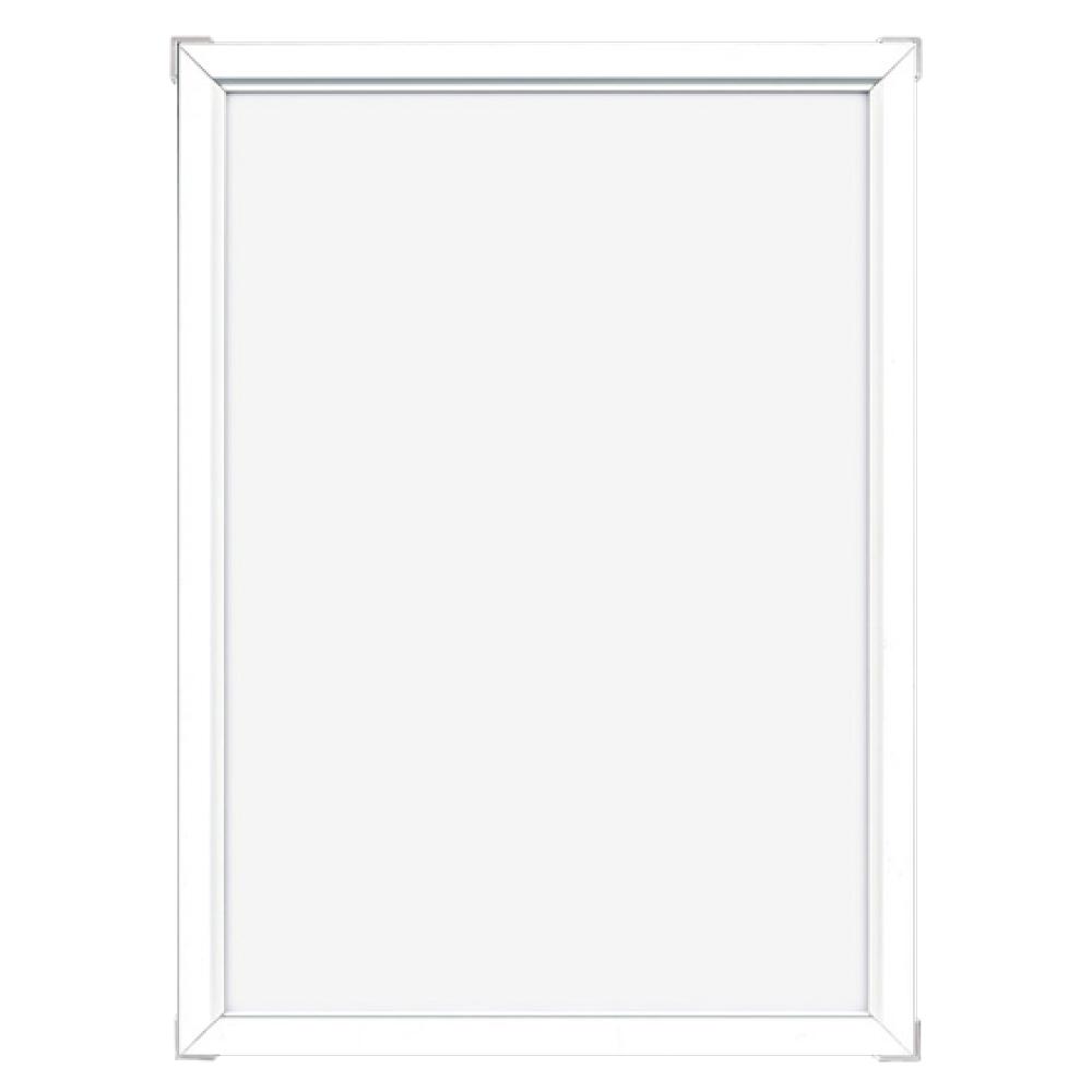 アルミフレーム・アルミパネル/Eフレーム(低反射) A4サイズ(210×297mm)