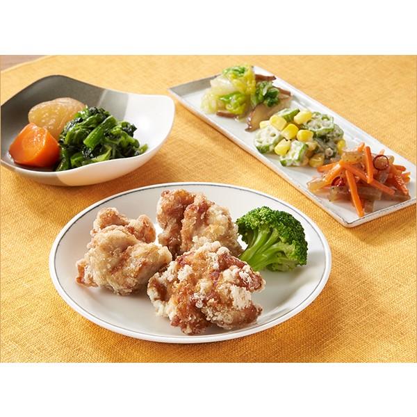 [冷凍] 気くばり御膳 丸大豆醤油仕立ての鶏からあげセット 【195g】