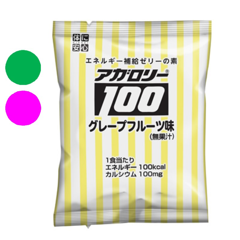 アガロリー100(グレープフルーツ味) 【132g】