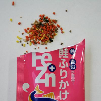 Fe+Zn(鉄+亜鉛)鮭ふりかけ 【3g×50袋入】