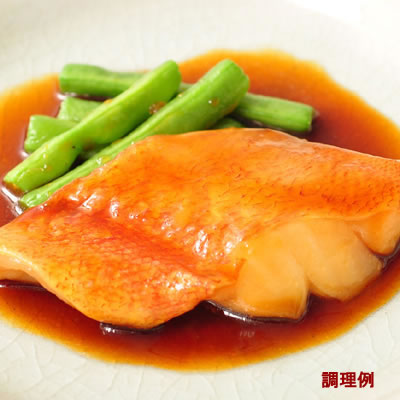 [冷凍] 楽らく 骨なし・赤魚 【60g×5切】