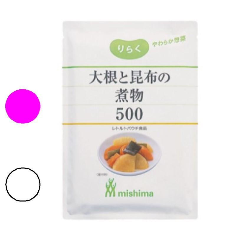 りらく 大根と昆布の煮物500 【1kg】