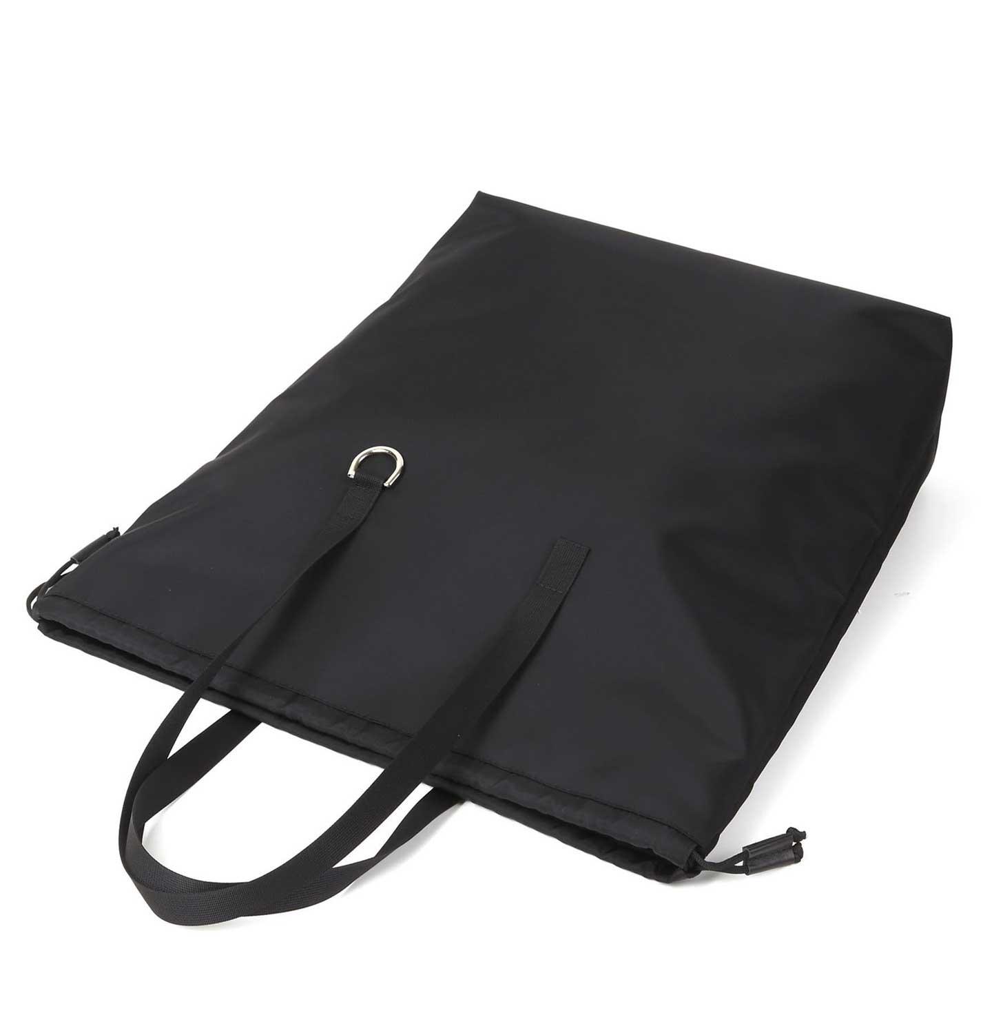 ARUMO ドローコードトートバッグ / ブラック