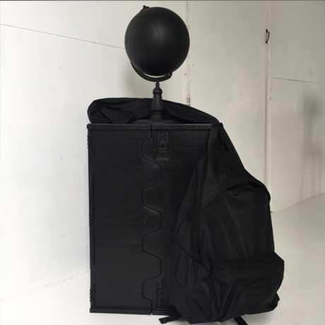 ARUMO リュックサック (M) / ブラック