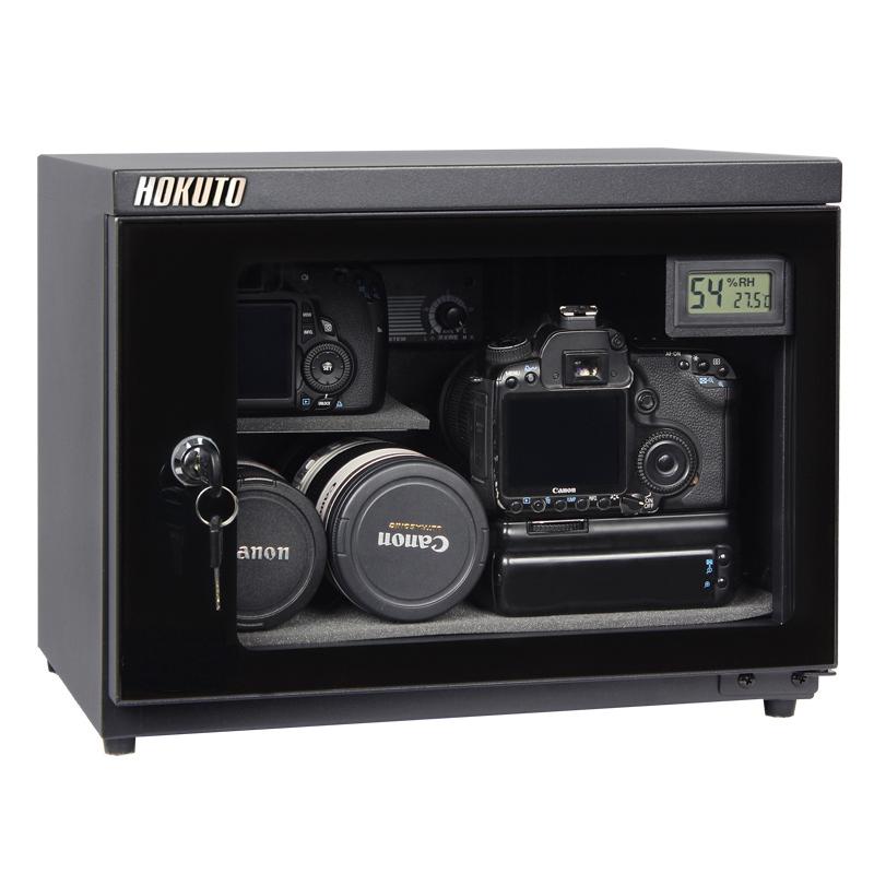 HOKUTO防湿庫・ドライボックス HSシリーズ容量25L 5年保証送料無料