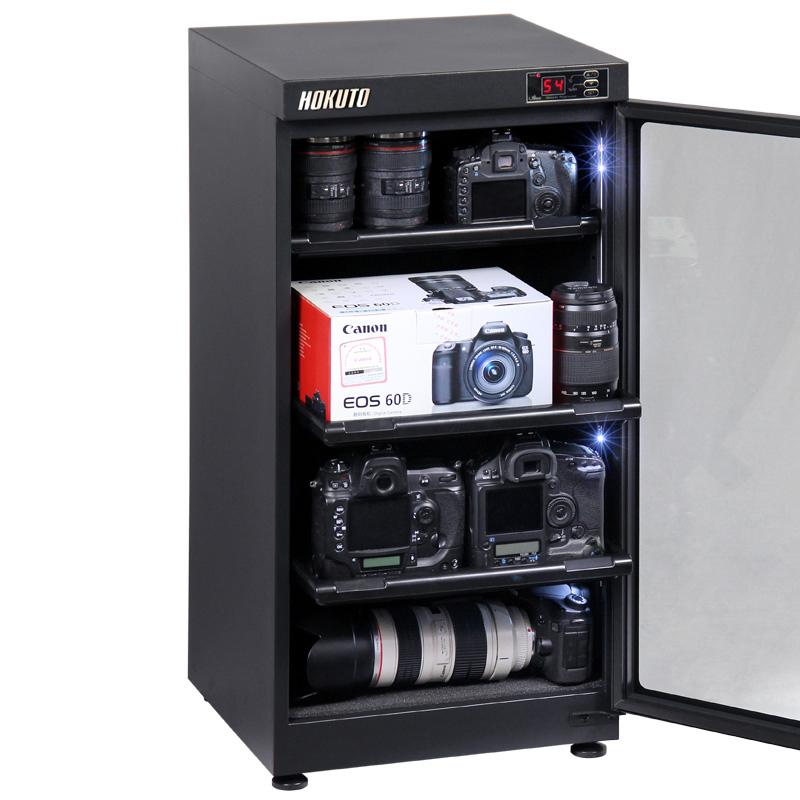 HOKUTO防湿庫・ドライボックス HPシリーズ102L 5年保証送料無料 全自動除湿機能 省エネ機能搭載 スタイリッシュ カメラやレンズのカビ対策楽々、静音、無振動カメラ保管庫 デシケーター カメラカビ対策 除湿庫 レンズカビ対策 ドライキャビネット 5年保証 送
