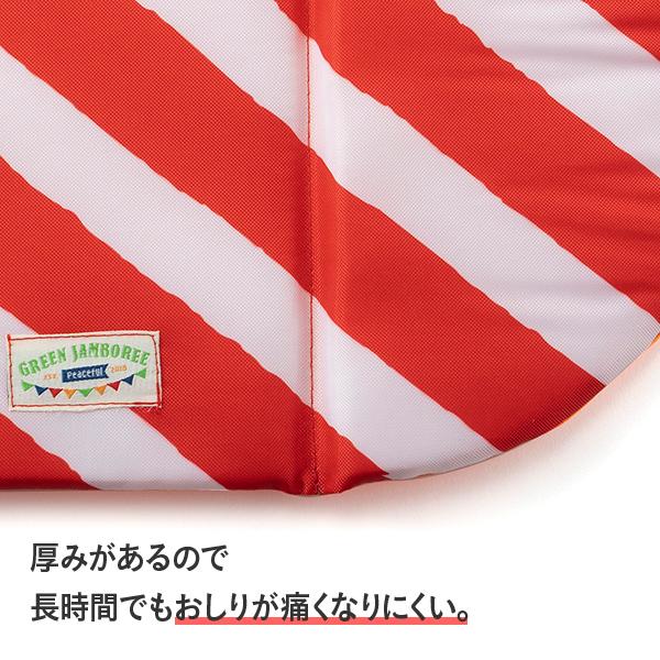 GREEN JAMBOREEコンパクトクッション(赤)