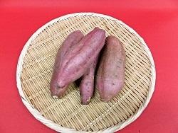 安納芋(土つき) 3kg(くしまアオイファーム)