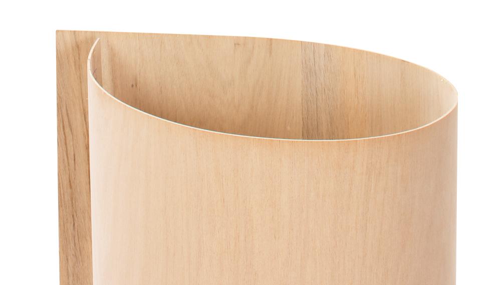 合板市場の6尺曲げ合板 9mm厚 1830mm×920mm