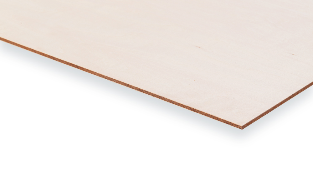 合板市場のシナ合板 片面5.5mm厚 915mm×1825mm