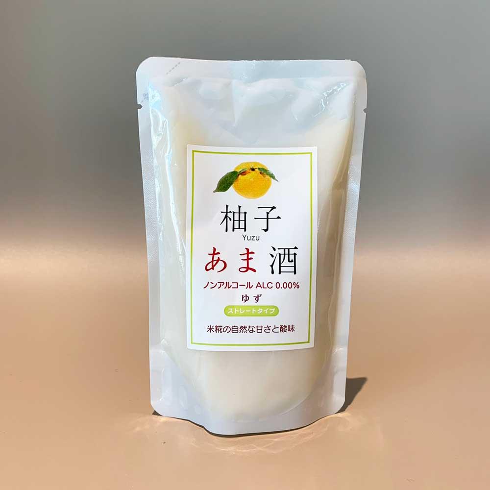 【6個セット】 フルーツあま酒ユズ 創業1771年糀和田屋 そのまま飲めるストレート 砂糖不使用