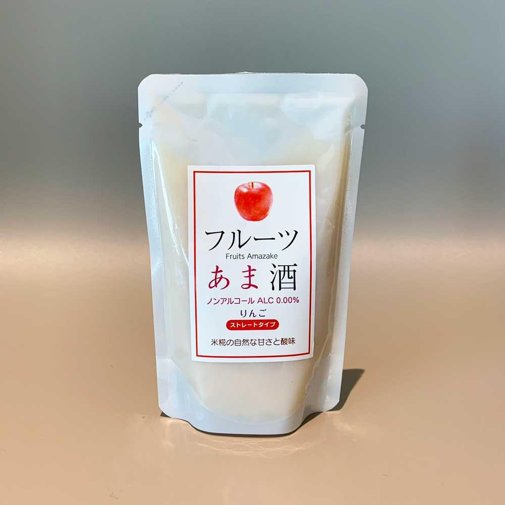 【6個セット】 フルーツあま酒りんご 創業1771年 糀和田屋 そのまま飲めるストレート 砂糖不使用