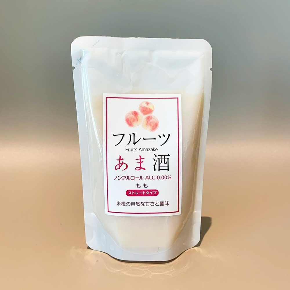 【6個セット】 フルーツあま酒もも 創業1771年 糀和田屋 砂糖不使用