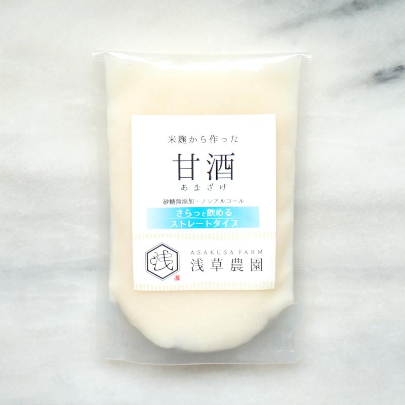 ◇【定期購入商品】 ストレート甘酒 15袋 セット