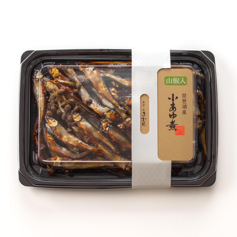 山椒入小あゆ煮 パック 138g