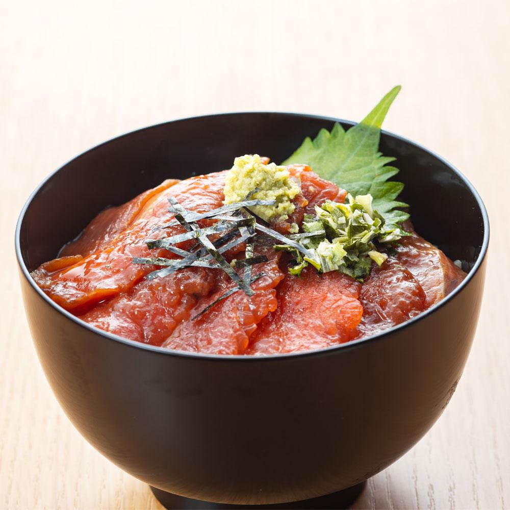 びわサーモン漬け丼の素(4食入) BIWT4