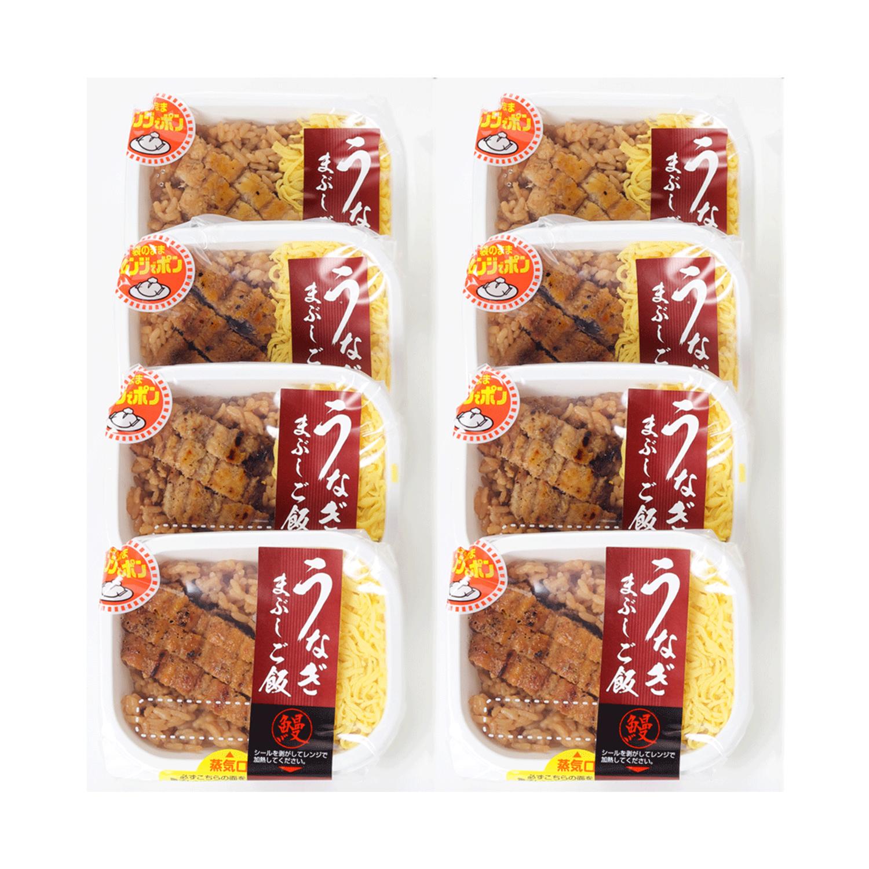 [冷凍] うなぎまぶしご飯 (8食入)