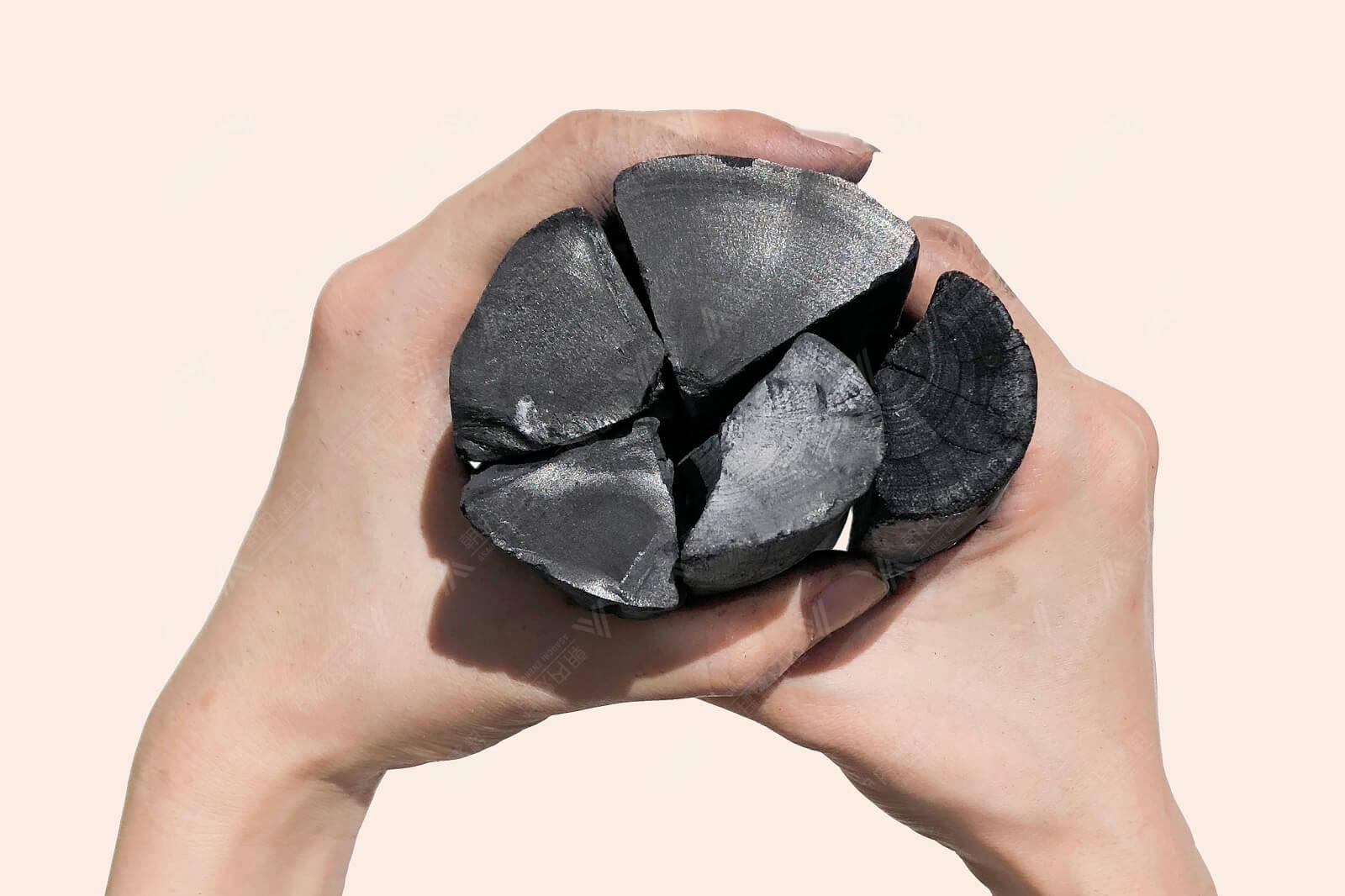 ラオス備長炭 上割小 15kg