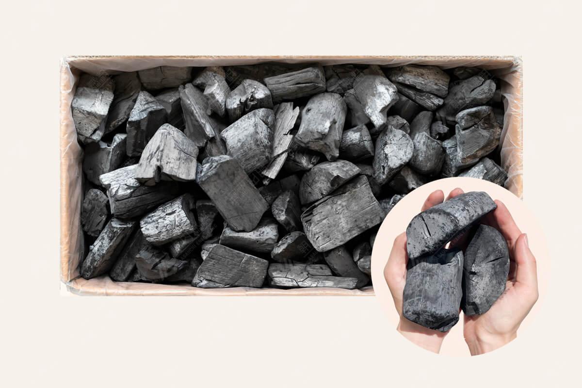 ラオス備長炭 荒上割 15kg