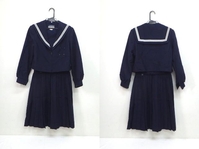 U54 中学校?? 高校?? 冬服セーラー服+冬服スカート/yt2048【6AHD】