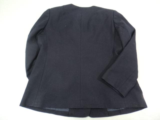 d90 札幌市立陵陽中学校 ブレザー165A+冬服スカート+ベスト/yt0237【5DSC】