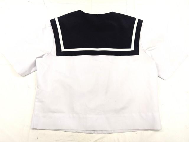 W93 日進中学校 夏服セーラー服+セーター+夏服スカート/yt2253【6XKR】