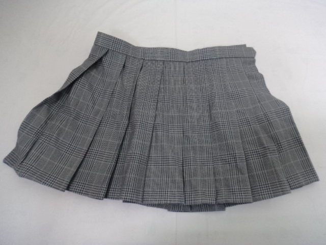 Z97 東京都立青井高校 体操服 ブレザー スカート リボン付/yt0129
