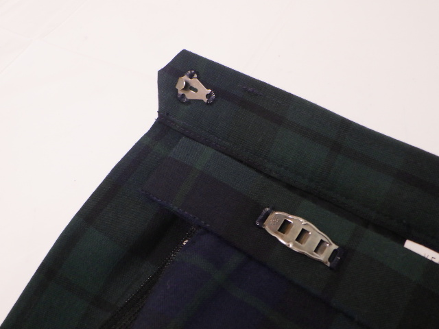 S39 愛知みずほ大学瑞穂高校 夏服スカート+ニットベスト+ベストジャケット/yt1966【15KJE】