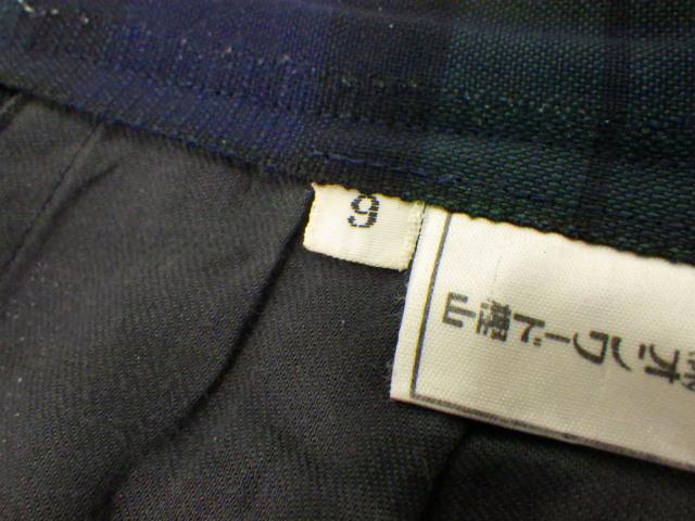 k65 仙台育英学園 ベスト+夏服スカート/yt1270【4EFRT】