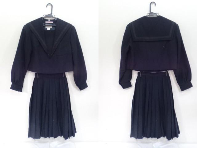 K96 愛知県 明和高校 セーラー服165A+夏スカート/yt1060【55TG】