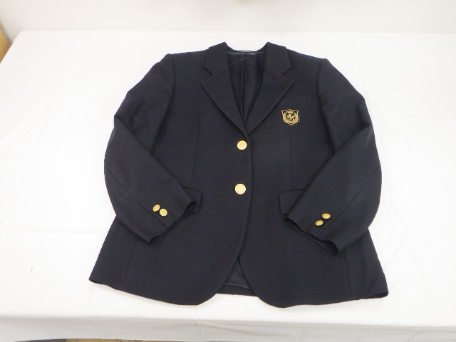 c96 新川高校 ブレザー+冬服スカート+トレーナー+リボン/yt1970【7KDF】
