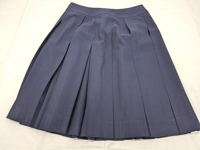 f44 安城東高校 ベスト+半袖シャツ+夏服スカート/yt2155【14VKH】
