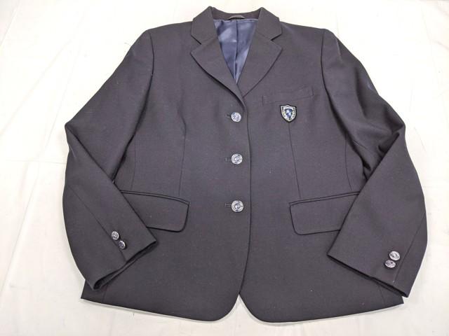 W98 聖カピタニオ女子高校 ブレザー+セーター+半袖・長袖シャツ+冬服スカート+リボン/yt2263【35CJE】