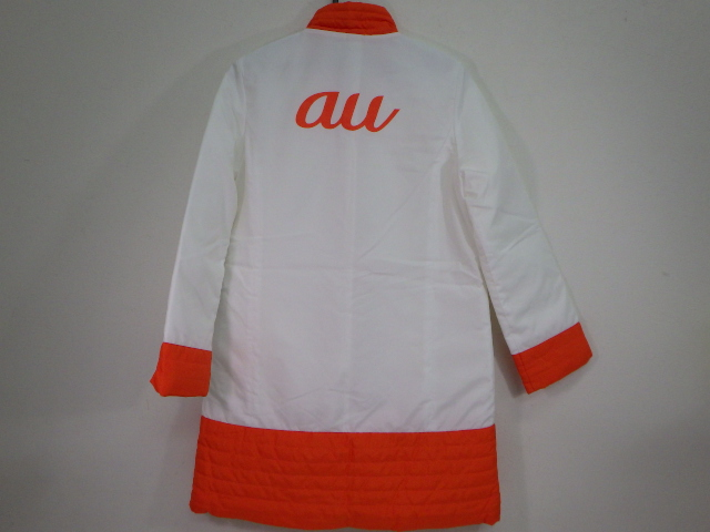 T415 auキャンペーンガール 制服 ダウン?ジャケット+半袖ポロシャツ+スカート/yt1163【4RHYD】