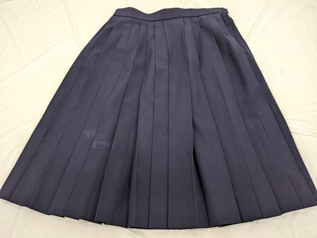Y82 知立市立竜北中学校 夏服セーラー服+夏服スカート/yt2467【9XHF】