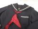 d02 高槻市芝谷中学校 冬服セーラー服+冬服スカート+スカーフ/yt1979【7JRF】