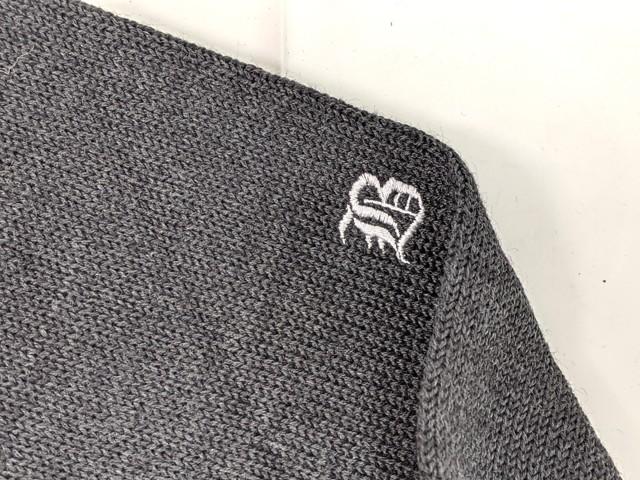 f40 文教大学付属中学校 コムサデモード ブレザー+半袖・長袖シャツ+セーター+冬服スカート+ネクタイ/yt2164【55SGB】
