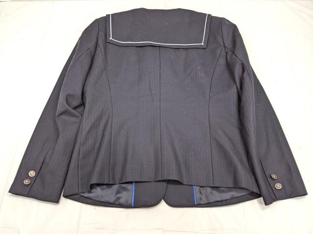 W92 愛知県 栄徳高校 ブレザー+長袖シャツ+カーデガン+冬服スカート/yt2271【5ZOKV】