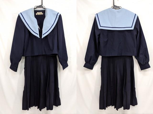 光ヶ丘中学校 冬服セーラー服+夏服スカート/yt2473【15XKV】