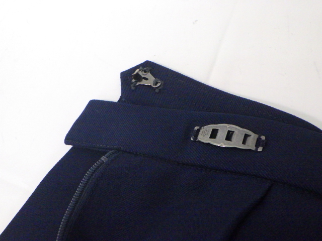 a43 愛知県 高蔵寺高校 冬服セーラー服170A+スカート+スカーフ/yt1496【2SEFW】