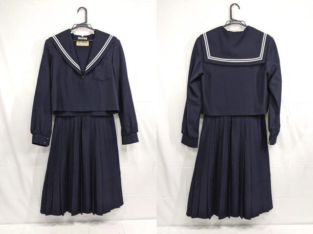 W99 中学校?? 高校?? 冬服セーラー服+冬服スカート/yt2275【4XKE】