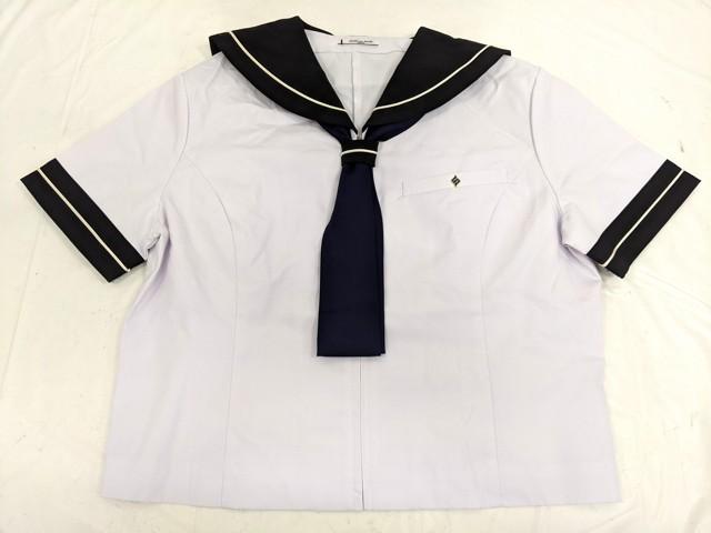 Z96 修文女子高校 夏服セーラー服+夏服スカート+ネクタイ/yt2482【4XLVG】