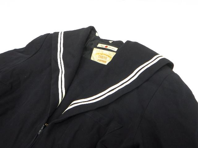 V63 鳴子台中学校 冬服・夏服セーラー服+冬服スカート/yt2095【4FGH】