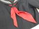 a95 埼玉県 川越西高校 冬・夏セーラー服+冬スカート+スカーフ/yt1609【5FLSF】