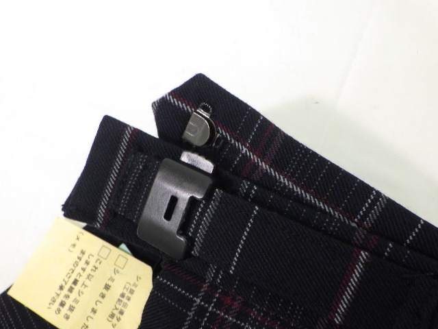 Q97 岐阜聖徳学園 半袖シャツ+冬スカート+リボン/yt1709【15LSF】