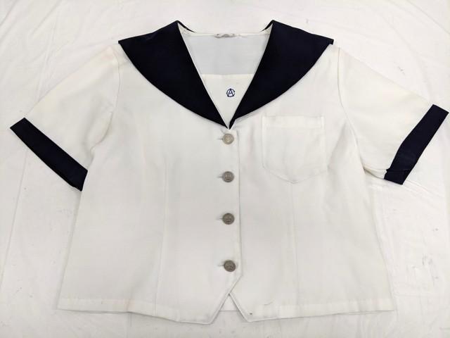 Z96 名古屋商業高校 夏服セーラー服+夏服セーラー服/yt2485【14ZKD】