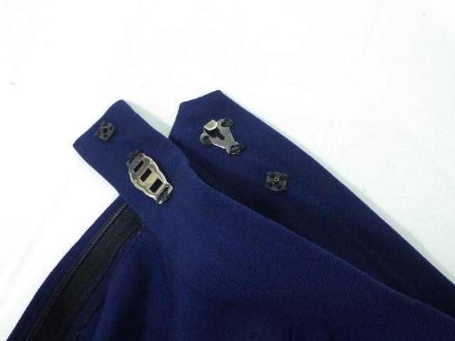 b69 高田東高校 ブレザー+長袖カッターシャツ+冬スカート/yt1710【9XKD】