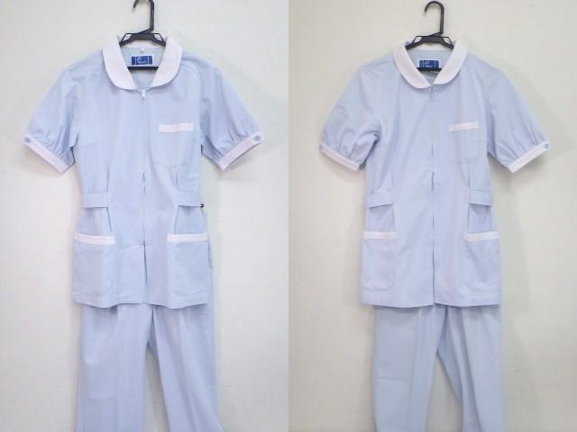 z63 国立神戸大学 看護服 ナース服上下セット サイズM・L/yt1408【12PL】