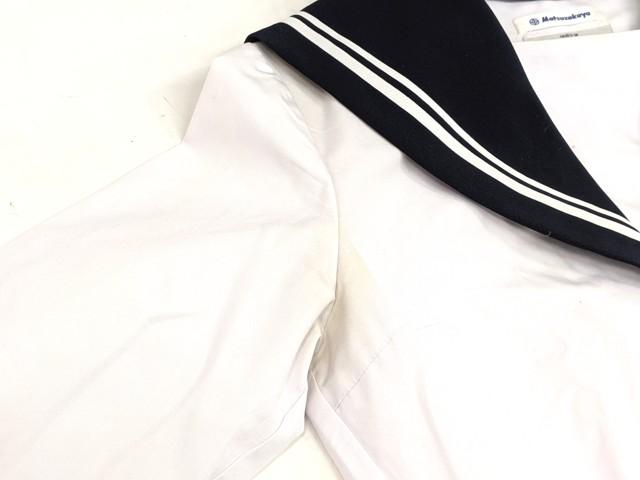 W48 豊田西高校 中間服セーラー服+冬服スカート/yt2187【6VNH】