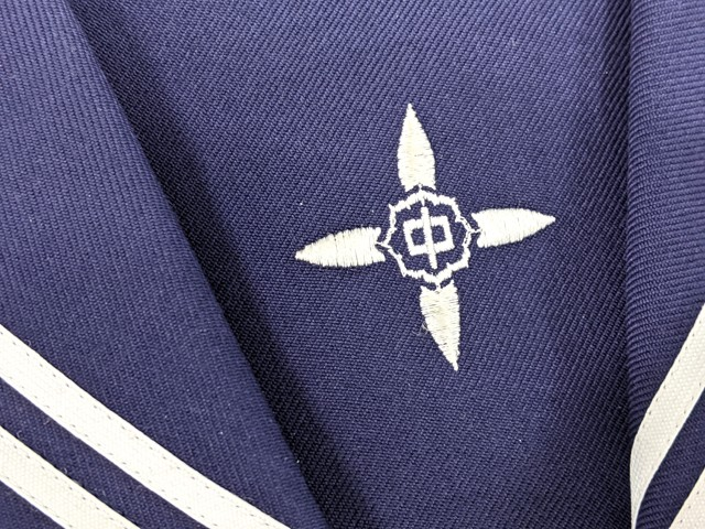 j26 中学校?? 高校?? 冬服セーラー服+冬服スカート+スカーフ/yt2590【9SKE】
